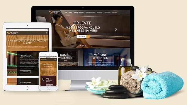 Wellness Vision má nový web